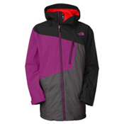 The North Face Gonzo Long Mens Shell Ski Jacket, Pamplona Purple, medium