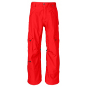 The North Face Spineology Mens Ski Pants, Fiery Red, medium
