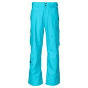 The North Face Fargo Cargo Mens Ski Pants, Turquoise Blue, medium