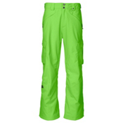 The North Face Fargo Cargo Mens Ski Pants, Glo Green, medium