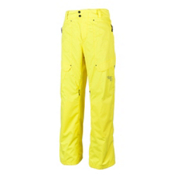 Obermeyer Yukon Mens Ski Pants, Acid Yellow, medium