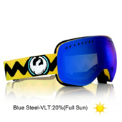 Dragon Gigi Ruf Signature APXs Goggles 2013, Gigi Signature-Blue Steel, medium