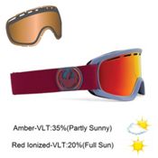 Dragon D2 Goggles 2013, Ice Fire-Red Ionized, medium
