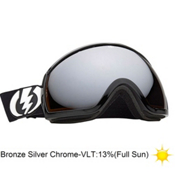 Electric EG2 Goggles 2013, Gloss Black-Bronze Silver Chr, medium