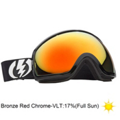 Electric EG2 Goggles 2013, Gloss Black-Bronze Red Chrome, medium