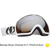 Electric EG2 Goggles 2013, Gloss White-Bronze Silver Chro, medium