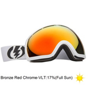 Electric EG2 Goggles 2013, Gloss White-Bronze Red Chrome, medium