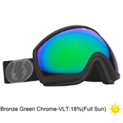 Electric EG2 Goggles 2013, Jet Exhaust-Bronze Green Chrom, medium