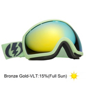 Electric EG2 Goggles 2013, Allied Green Matte-Bronze Gold, medium
