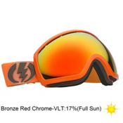 Electric EG2 Goggles 2013, Blood Orange-Bronze Red Chrom, medium
