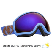 Electric EG2 Goggles 2013, Icy Blue-Bronze Blue Chrome, medium