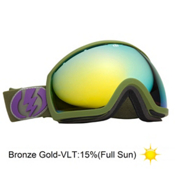 Electric EG2 Goggles 2013, Field Drab-Bronze Gold, medium