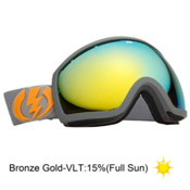 Electric EG2 Goggles 2013, Panzer Grey-Bronze Gold Chrom, medium