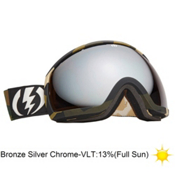 Electric EG2 Goggles 2013, Disorganize-Bronze Silver Chro, medium