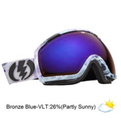 Electric EG2 Goggles 2013, Singularity-Bronze Blue Chrome, medium