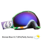 Electric EG2 Goggles 2013, Tank-Bronze Blue Chrome, medium
