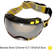 Electric EG2 Andreas Wiig Goggles 2013, Rids Andreas Wiig-Bronze Silve, medium