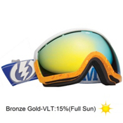 Electric EG2 Pat Moore Goggles 2013, Rids Pat Moore-Bronze Gold Chr, medium