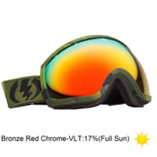Electric EG2 Peter Line Goggles 2013, Rids Peter Line-Bronze Red Chr, medium