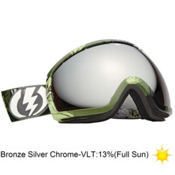 Electric EG2 Tanner Rainville Goggles 2013, Rids T. Rainville-Bronze Silve, medium