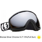 Electric EG2.5 Goggles 2013, Gloss Black-Bronze Silver Chro, medium