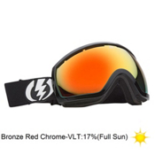 Electric EG2.5 Goggles 2013, Gloss Black-Bronze Red Chrome, medium