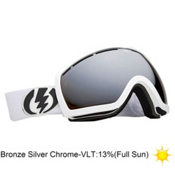 Electric EG2.5 Goggles 2013, Gloss White-Bronze Silver Chro, medium