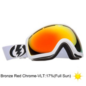 Electric EG2.5 Goggles 2013, Gloss White-Bronze Red Chrome, medium