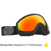 Electric EG2.5 Goggles 2013, Missle Exhaust-Bronze Red Chro, medium