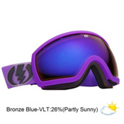 Electric EG2.5 Goggles 2013, Royal Purple Matte-Bronze Blue, medium
