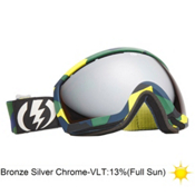 Electric EG2.5 Goggles 2013, Disorganize-Bronze Silver Chro, medium
