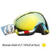 Electric EG2.5 Goggles 2013, Tank Matte-Bronze Gold Chrome, medium