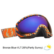 Electric EG2.5 Goggles 2013, Mapulated-Bronze Blue Chrome, medium