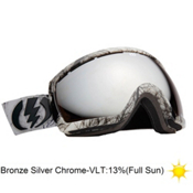 Electric EG2.5 Goggles 2013, Twiggy-Bronze Silver Chrome, medium
