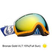 Electric EG2.5 Pat Moore Goggles 2013, Pat Moore-Bronze Gold Chrome, medium