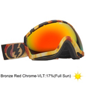 Electric EG2.5 Parker White Goggles 2013, Parker White-Bronze Red Chrome, medium