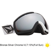 Electric EG2.5 Volcom Co-Lab Goggles 2013, V.co Lab-Bronze Silver, medium