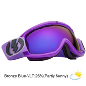 Electric EG.5s Goggles 2013, Royal Purple-Bronze Blue Chro, medium