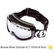 Electric EGK Kids Goggles 2013, Gloss Black-Bronze Silver Chro, medium