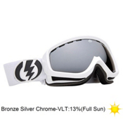 Electric EGK Kids Goggles 2013, Gloss White-Bronze Silver Chro, medium