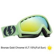 Electric EGK Kids Goggles 2013, Allied Green Matte-Bronze Gold, medium