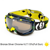 Electric EGK Kids Goggles 2013, Disorganize-Bronze Silver Chro, medium