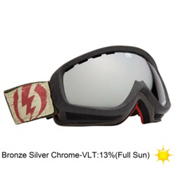 Electric EGK Iikka Backstrom Kids Goggles 2013, I.backstrom-Bronze Silver Chro, medium