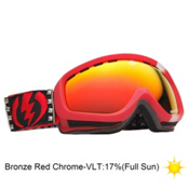 Electric EGK Cheryl Maas Kids Goggles 2013, Cheryl Maas-Bronze Red Chrome, medium