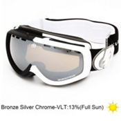 Electric EGK Volcom Co-Lab Kids Goggles 2013, V.co Lab-Bronze Silver Chrome, medium