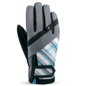 Dakine Womens Electra Womens Gloves, Stripes, medium