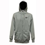 Electric EG Riding Zip Hoodie, Grey, medium