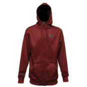 Electric EG Riding Zip Hoodie, Maroon, medium