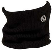 Electric Gator Neck Warmer, Black, medium