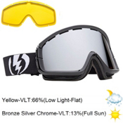 Electric EGB2 Goggles 2013, Gloss Black-Bronze Silver Chro, medium